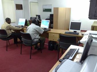 RIS offices – working with the system